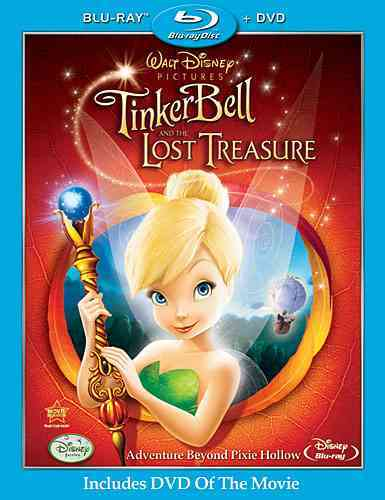 TINKER BELL AND THE LOST TREASURE BY HALL,KLAY (Blu-Ray)